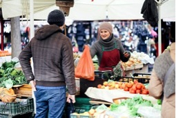 Be inspired by  street market traders