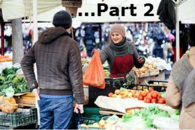 You: a street market trader?