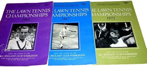 A good example of ephemera - Vintage Lawn Tennis brochures.