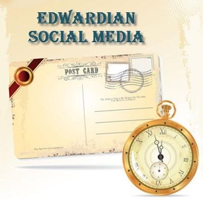 Profiting from Edwardian Social Media – Postcards